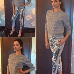Metallic Pants And Pantsuits For Bollywood