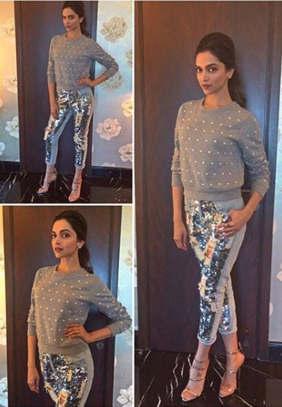 metallic pants and pantsuits for bollywood � fashion in