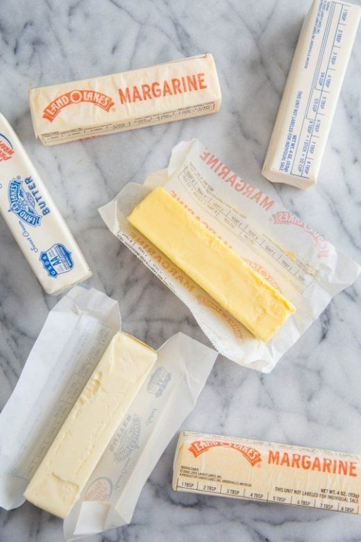Difference between Margarine and Butter