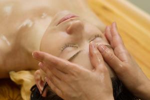 Face massage oils