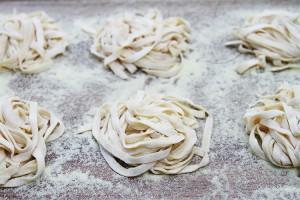 Pasta dough at home