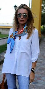 Styling With White Shirt