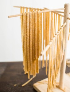 Whole wheat pasta dough