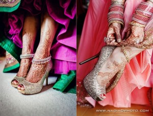 Anklet style Payal for brides