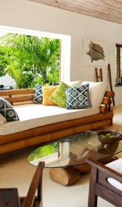 Bamboo sofa sets