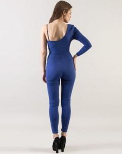 Blue Asymmetric Shoulder