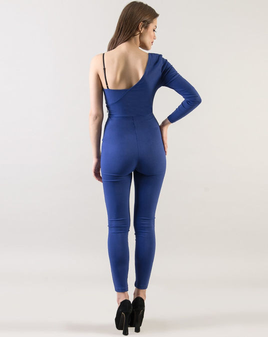 Blue Asymmetric Shoulder