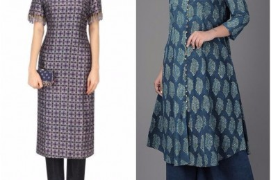 Cold Shoulder kurtas