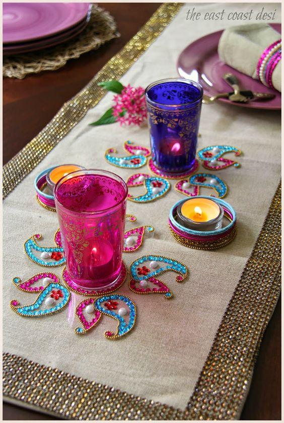 Colorful glasses for holi