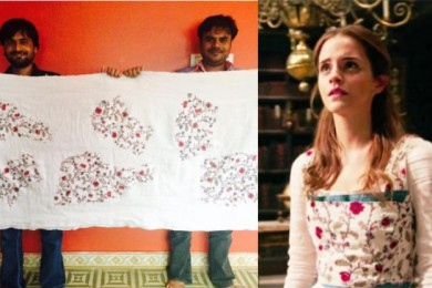 Emma Watson Costume in Indian embroidery