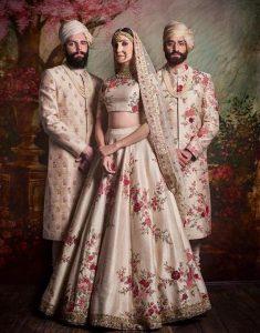 Floral Dresses for brides