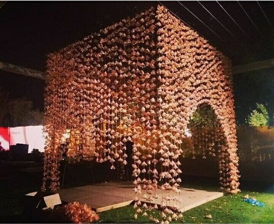 Gota Wedding decor