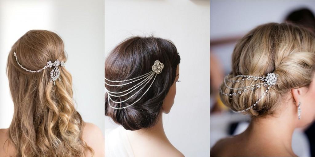 Hair chain accessory