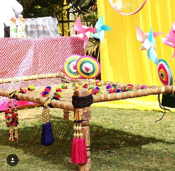 Holi decoration