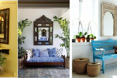 Indian mirrors for home