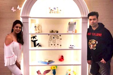 Karan Johar gets a nursery designed for his twins