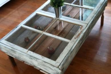 Old door center  table