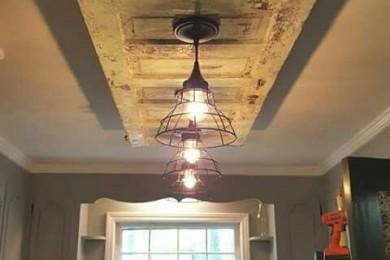 Old door false ceiling