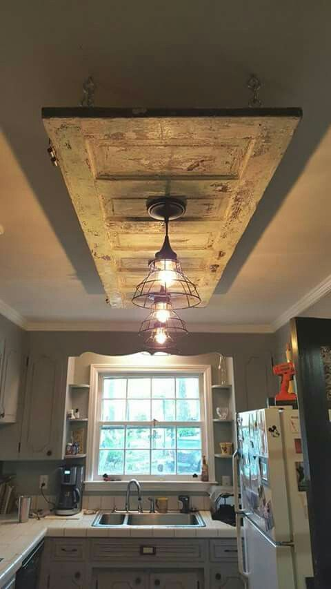 Old door false ceiling