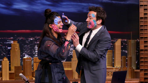 Priyanka chopra on Jimmy Fallon show