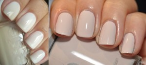 Shades of white nailpaints for summers