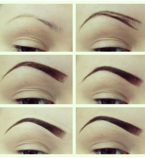 Shape the eyebrows