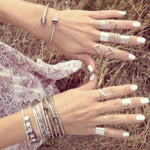 Silver Finger stacks