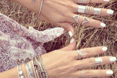 Silver Finger stacks