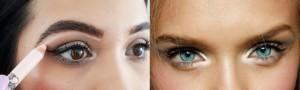 Use Highlighter for eyes