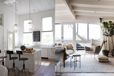 White textured ceiling for white walls