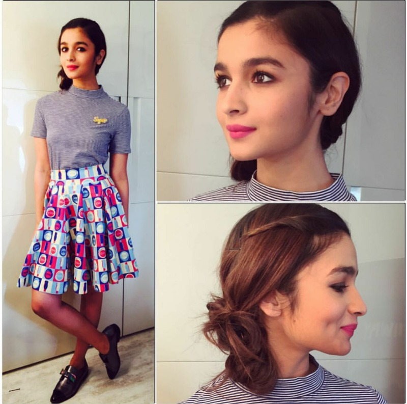 Alia Bhatt Summer Dressing-