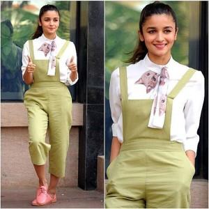 Alia Bhatt in Jumpsuit