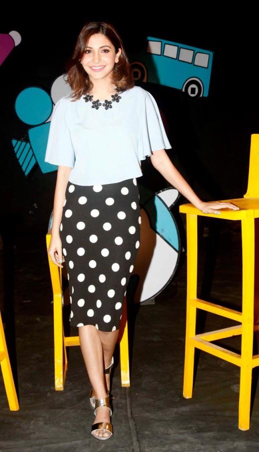 Anushka Sharma in polka dots