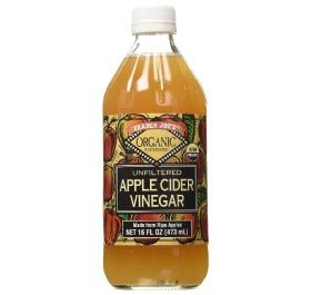 Apple cider vinegar for body odor