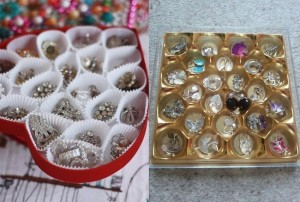 Chocolate boxes for jewelry boxes