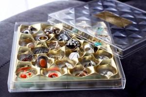 DIY Reuse Ferrero Rocher boxes