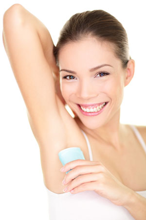 Get rid of underarm odor naturally