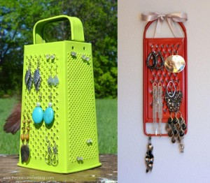 Grater for jewelry organising
