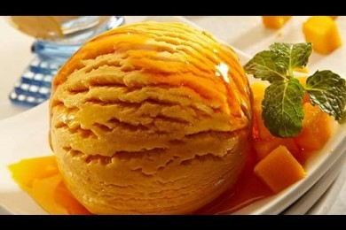 Make Mango Ice Cream At Home Without An Ice Cream Maker