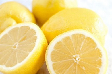 Lemon for underarm odor