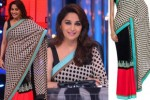 Madhuri dixit in polka dot saree
