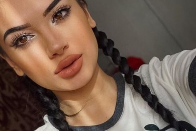 Nude brown lipstick for summers