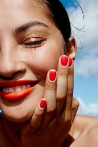 Orange lip color for smmers