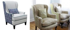 Plain and printed high chairs