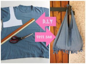 Recycle old T-shirt