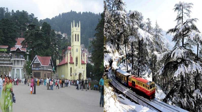 Shimla hill stations to visit in summers
