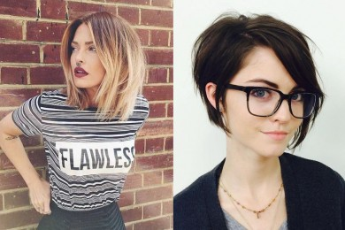 Short hairstyles for summer 2017