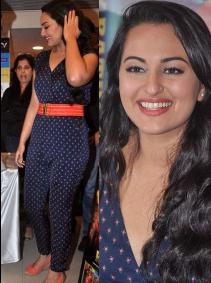 Sonakshi sinha in jumpsuit