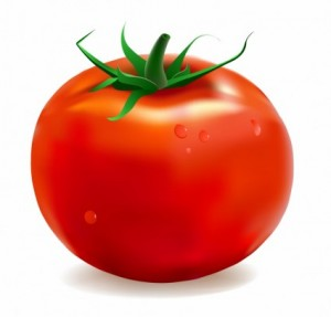 Tomato for underarm odor