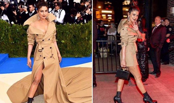 Priyanka Chopra In Ralph Lauren Dress At Met Gala 2017